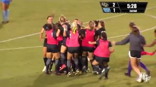 RECAP: UCF Women's Soccer vs. North Carolina (8-25-17)