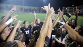 FEATURE: Women's Soccer's Historic Victory vs. North Carolina (8/27/17)