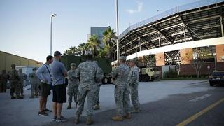 UCF Hosts Florida National Guard After Hurricane Irma