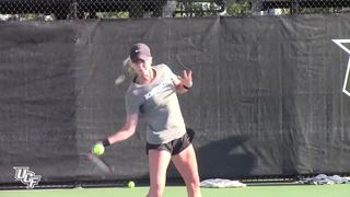 Women's Tennis Opens Fall Practice (9-15-17)