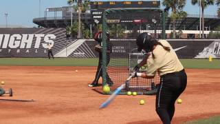 UCF Softball Starts Fall Practice