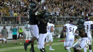 HIGHLIGHTS: UCF 63, ECU 21 (Homecoming)