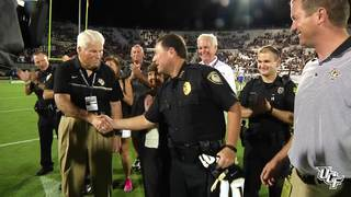 UCF Welcomes Hometown Heroes