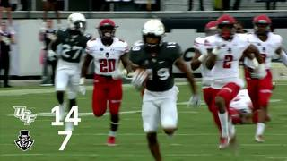 HIGHLIGHTS: UCF Football 73, Austin Peay 33
