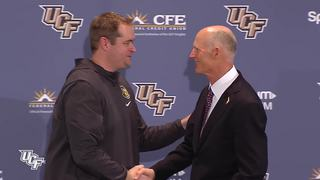 FB: Governor Rick Scott visits the Knights