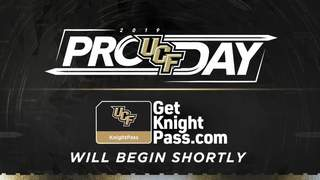 Broadcast: UCF Football 2019 Pro Day on March 26, 2019