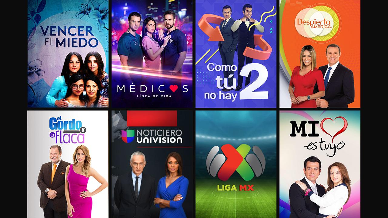 Univision NOW - Landing